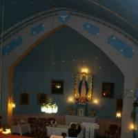 Rovensko - vnitřek kostela