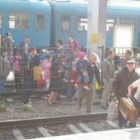 Temešvár - tlačenice na nádraží aneb proč chodit podchodem