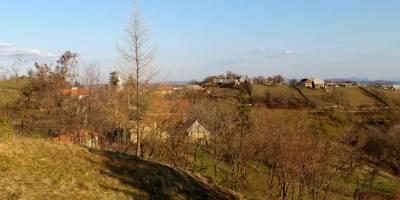Panorama v Rovensku (od kostelíčku)