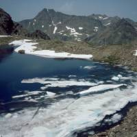 sněhovo-ledovcové jezero