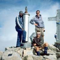 Pico de Aneto (3404m) -vrcholovka (Kleofáš, Pavouk, Trpaslík; Prcek - zůstal 10m od vrcholu).