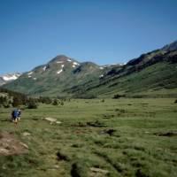 údolí nad Lac des Bouillouses