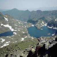 jezero Fourcat zeshora