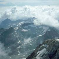 Pico de Aneto - pohled z vrcholu