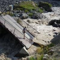 Kavkaz, Džily su; spadlý mostek