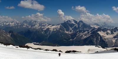 Kavkaz, od Pastuchových kamenů
