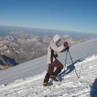 Kavkaz, ranní výstup na Elbrus