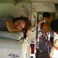 Ve vlaku - plackartnyj