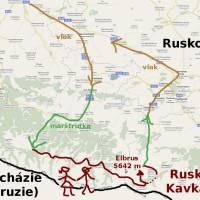 Cesta po Kavkaze