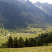 Kavkaz, údolí Marucha