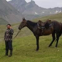 Kavkaz, bača v průsmyku Muchynskij