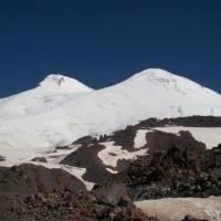 Kavkaz, Elbrus od lanovky