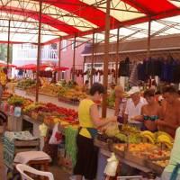 Krym, Sudak - tržiště