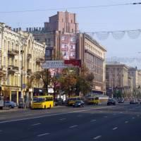 Kyjev - hlavní třída Kresčatik