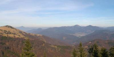 Panoráma - pohled ze Zvolenu (V. Fatra)