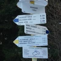 Medralova - nejsevernější bod Slovenska