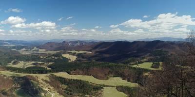 Panoráma z Velkého Manína - Velká Fatra, Sulov, Kysucké Beskydy