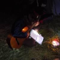 Janča kytaristka