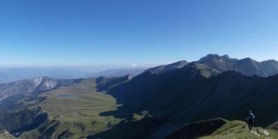 Panorama z Korabu