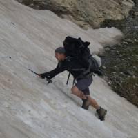 Korab, Pavel uklouzl na sněhu