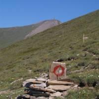 Šar planina, Titov vrv a značka, co vede na vrchol