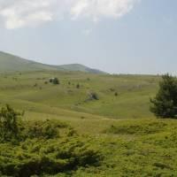 Jakupica, krasová krajina pod Žitínem