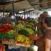 Ohrid, tržiště