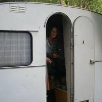 Ohrid, náš pronajatý karavan