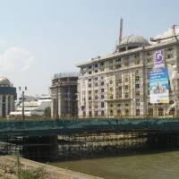 Skopje, mohutná výstavba