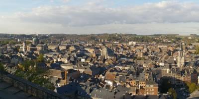 Panoráma města Namur