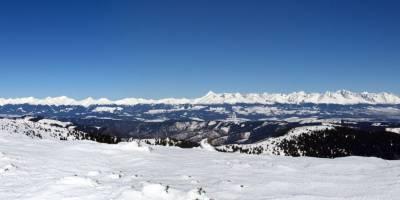 Vysoké Tatry z Veľké Vápenice