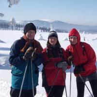 Rodina Svačinova a Kralický Sněžník od Smrku