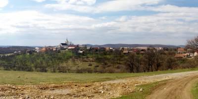 Obec Silica od východu