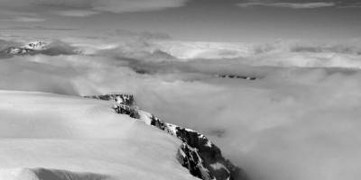 Z vrcholu Kebnekaise (cca 2104m)