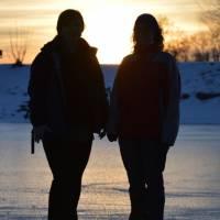 Rudíkov - Silvestr večer - Maku a Janča