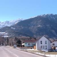 Rax z údolí (od obce Hirschwang)