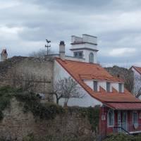 Retz: dům v hradbách