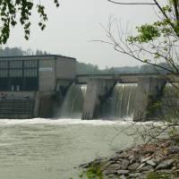 Elektrárna na Enži, foto K. S.