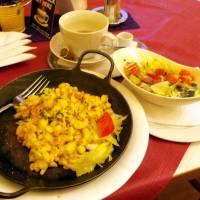 Večeře v městečku Liezen