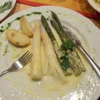 Večeře v Radstadtu - chřest