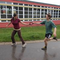 Štafetový běh - Mireček a  Markéta
