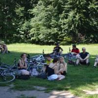 Biely Kríž - rekreační oblast cyklistů z Bratislavy