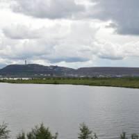 Průmyslové město Kiruna - obrovské doly na železné rudy