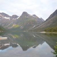 Nad Narvikem - večerní foto