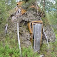 Sámská osada Anon - původní typ domečků