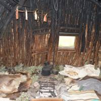 Sámský obchod -prodej chleba a ryb