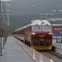 Luxusní vlak Bodo - (Fauske) - Trondheim