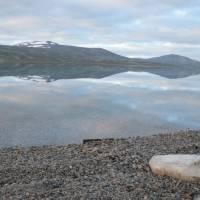 Jezero Bjella ve 4 ráno