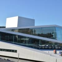 Oslo - budova nové moderní budovy Opery