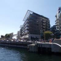 Oslo - moderní čtvrť Aker Bridgge